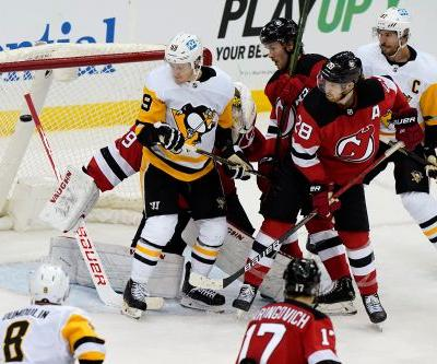 Devils' home horrors continue with loss to Penguins