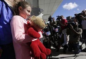 Teddy bear reunion at Fort Lauderdale airport