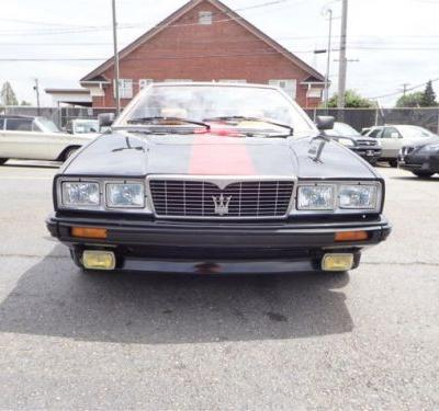 At $8,950, Will This 1986 Maserati Biturbo Zagato Spyder Have You Singing A New Tune?