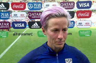 Megan Rapinoe: The U.S. team showed World Cup level grit vs Spain