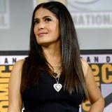 Salma Hayek's Latest Post Gives Us a Glimpse of Her Natural Hair Texture, and It Is Gorgeous