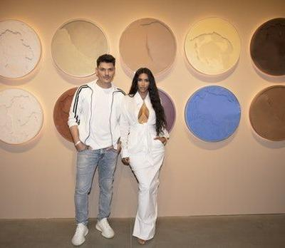 What Does The KKW Beauty Pop-Up Shop Look Like? Kim K Teased The Inside & It's Stunning