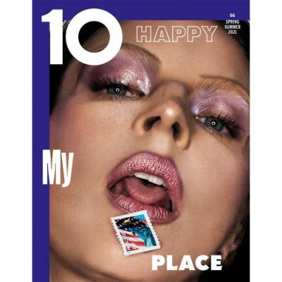 Donna Trope Photographs Liberty Ross Wearing Chanel Beauty for the Second Cover of Issue 66