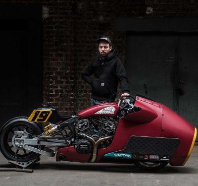 Randy Mamola To Ride Indian Scout At Sultans Of Sprint