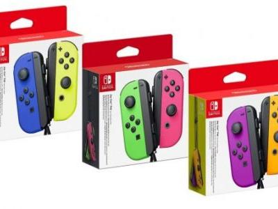 Nintendo Switch Joy-Con controllers are now $10 off at Amazon