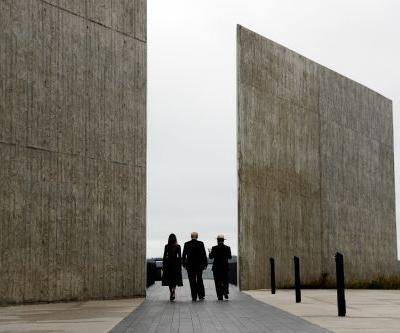 'Gorgeous wall' designed for 9/11 victims serves as inspiration for border wall, Trump says