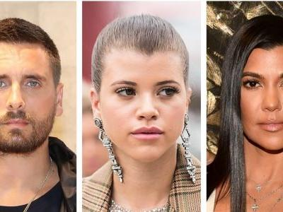 Sofia Richie Was Reportedly 'Uncomfortable' With Kourt And Scott's Thanksgiving Pic And Like, Duh