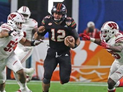 Miami's chaotic season about to end - but not before one last twist for Pinstripe Bowl