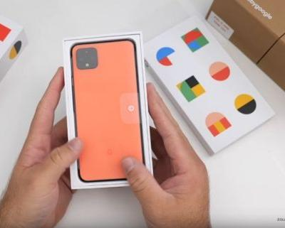 Google Pixel 4 XL shown off on video