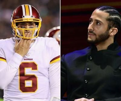 Why the Redskins discussed and rejected Colin Kaepernick