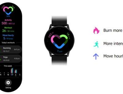 Samsung Galaxy Watch Active press renders leaked