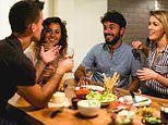Why dining with friends makes you eat less: You're less interested in the food on your plate