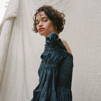 Tierra photographed by Sunny Shokrae, styled by Courtney
