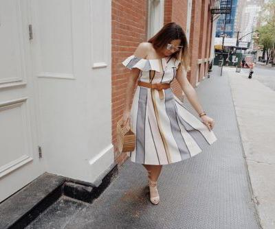 The Best Off-the-Shoulder Dress Styles for Summer