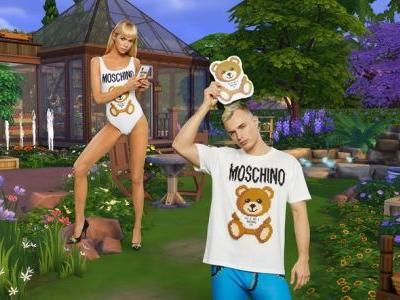 Moschino teams up with The Sims on an IRL collection