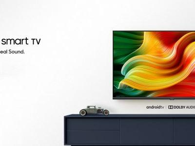 Realme debuts first TVs w/ Google's Android TV, affordable prices, Dolby Audio
