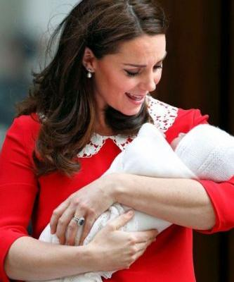 Kate Middleton is a Vision in Jenny Packham at her Son's Photo