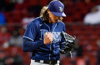 Tyler Glasnow delivers another gem but Rays fall to Red Sox in extras