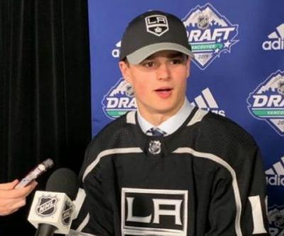 LA Kings Select Alex Turcotte No. 5 - What You Need to Know
