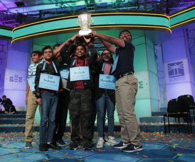 U-N-P-R-E-C-E-D-E-N-T-E-D: Eight Spellers Crowned National Spelling Bee Co-Champions