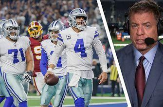 Troy Aikman on 'huge' Dallas Cowboys win to tie first in NFC East
