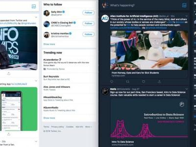 Twitter tests redesigned web interface, rolls out support for audio-only live broadcasts to iOS