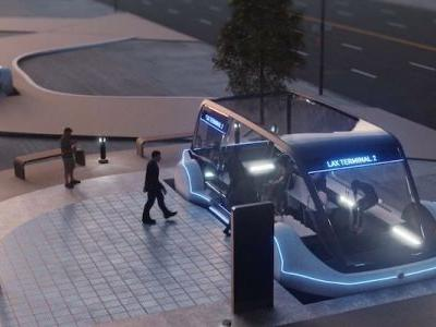 Elon Musk shares first-look into The Boring Company's 'disturbingly long' tunnel