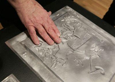 'Blind Spot' exhibit makes art accessible to visually impaired - and everyone else
