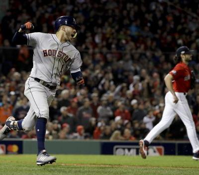 Houston bests Boston 7-2 as pitching woes, shaky defense sink Red Sox in Game 1 of ALCS