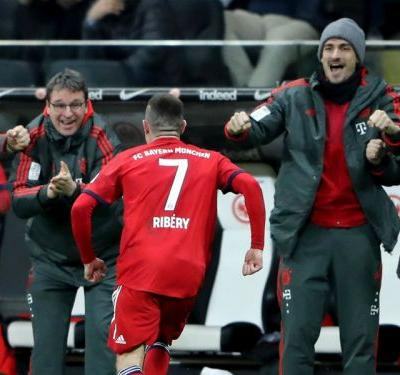Old but gold - Ribery double breaks Bayern Munich record