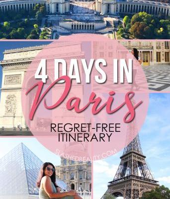 The Best 4 Days in Paris Itinerary: Leave Without Regrets!