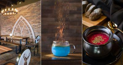 This Harry Potter inspired restaurant is the next thing on our magical bucket lists