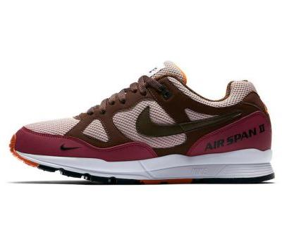 Nike Unveils Official Images of New Air Span II Designed in Tandem With Patta