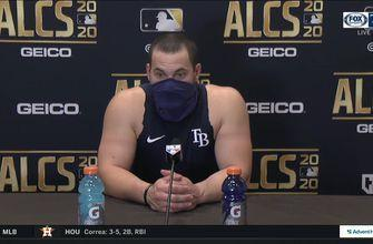 Rays C Mike Zunino discusses Game 6 ALCS loss to Astros