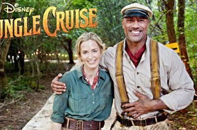 Disney's Jungle Cruise Video Has The Rock & Emily