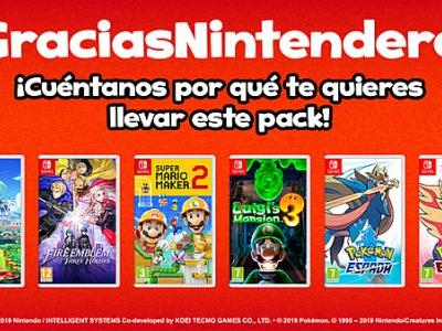 Nintendo celebrates 1 million Switch units sold in Spain by giving away bundles of free games