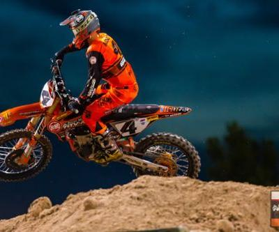 Blake Baggett Finishes Season in 4th, Benny Bloss Receives AMA 450SX Rookie of the Year Award