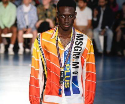 Anime Graphics, Neon and Tourist Prints Dominated at the MSGM SS19 Pitti Uomo Show