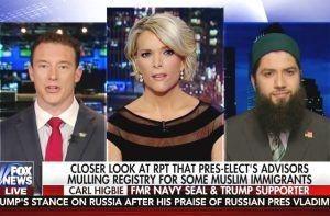 Trump Supporter Carl Higbie Tells Megyn Kelly He Didn't Cite Internment: 'You Put Words Out There.'