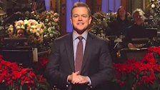 Host Matt Damon Honors 'SNL' And Late Father With Emotional Tribute On Holiday Show