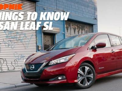 The 2018 Nissan Leaf Has a Mysterious Transmission Tunnel, and Four Other Things You Should Know