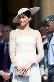 Meghan Markle Just Wore Another Bridal Look, and All We Can Say Is, WOW
