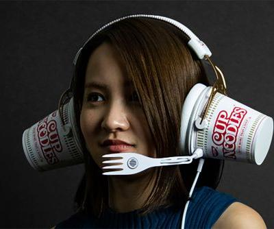 Please don't let these ramen headphones be an April Fools' Day joke