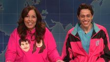 Pete Davidson Gifted His Mom Jon Hamm For Mother's Day On 'SNL'