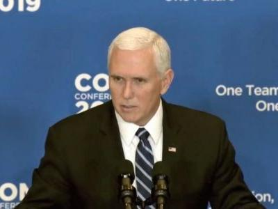 Pence Calls for Ilhan Omar to 'Face Consequences' for Tweets: 'No Place' for Anti-Semitism