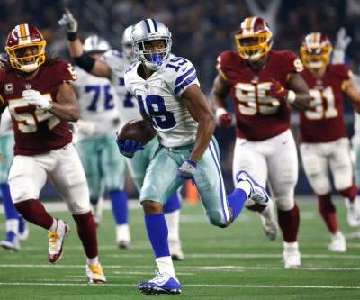 Giants get help as Cowboys ride Cooper to win over Redskins