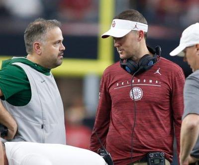 Cowboys owner Jerry Jones 'impressed' with Oklahoma's Lincoln Riley and Baylor's Matt Rhule