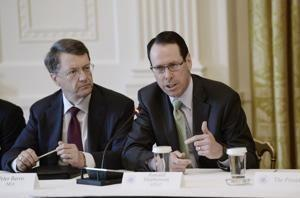 AT&T chief Randall Stephenson questions government's challenge of takeover: 'We own Time Warner'