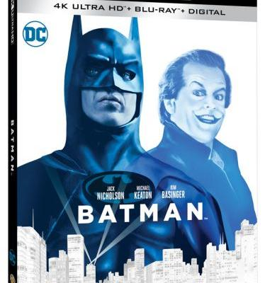 Tim Burton and Joel Schumacher 'Batman' Films Get 4K Treatment and Awful Covers