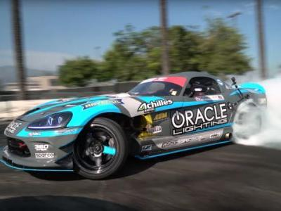 Can Your Car Do Fifth Gear Donuts? This 1,350-HP Dodge Viper Drift Car Can